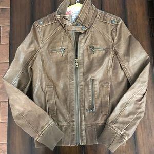 Catwalk Studio Faux Leather bomber jacket
